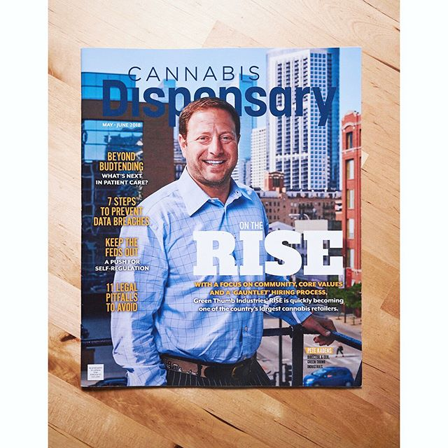 Some recent print work! Portraits of @gtigrows CEO, Pete Kadens, shot in Chicago for @cannabisdispensarymag - - - - #chicago #ceo #portrait #portraiture #editorial #print #tearsheet #cannabis #cannabiscommunity #dispensarylife #rise #risedispensaries #gti #canon6d #zeiss50mm #captureonepro