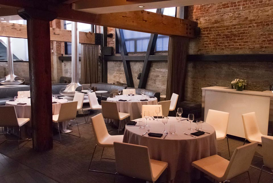 Private Dining Room + 2 Lounge Bays