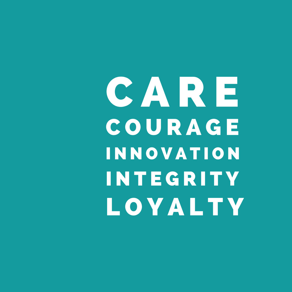 Who we are: - Embrace's core values are woven within our DNA and guide the way we approach people and Church.