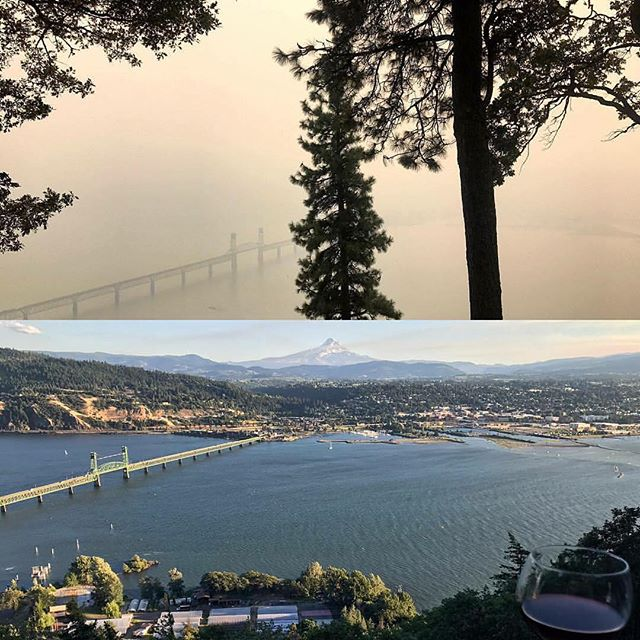 Pine Street Kitchen will be closed tonight due to poor air quality and pending wind change affecting the Eagle Creek Fire.  We hope to reopen as soon as possible. Our hearts are with those who are working to fight this fire as well as those who have evacuated.  Please stay safe out there! 📷: Laurie Rogers