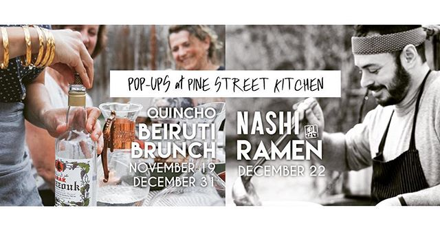 We can't wait to kick off our pop-up series tomorrow at 9am with @quinchoso for Beiruti Brunch! #manaeesh #hoodriver #pinestreethoodriver #brunchisalwaysagoodidea