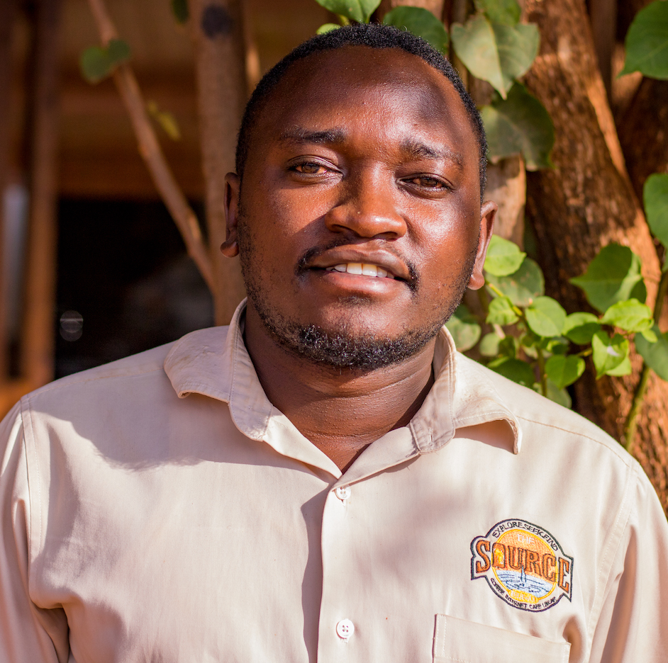 Growing up in Jinja, Timothy was introduced to the Source when attending the Jinja Church of Christ behind the cafe as a child. He served as a Source librarian intern before beginning his career as a chef for the cafe.
