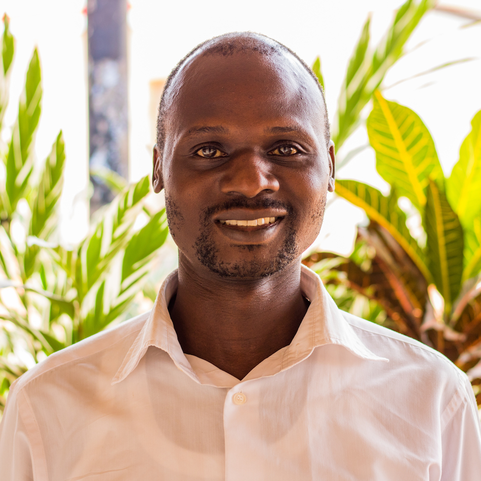 Lazarus has been working at the Source Café since 2000 and currently serves as the head manager. He holds a B.A. in business administration from Nkumba University and believes the Source provides opportunity for employees and a diverse community for visitors. He is married with four children.