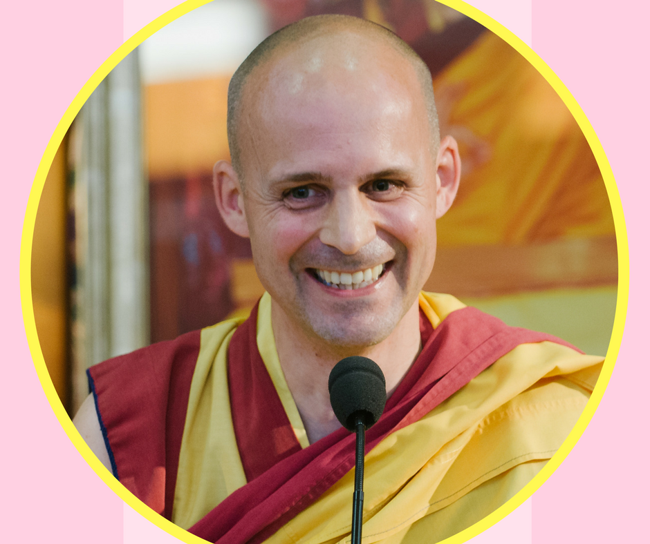 Gen-la Kelsang Jampa, Deputy Spiritual Director of the NKT-IKBU.