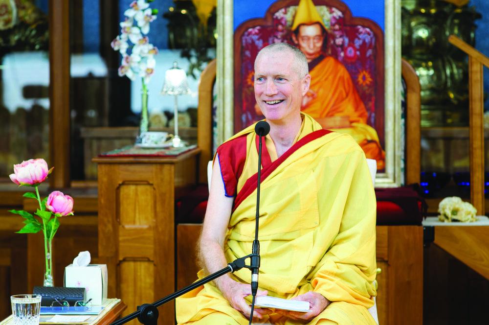 Gen-la Kelsang Khyenrab, Resident Teacher of KMC Canada and NKT National Spiritual Director for Canada.