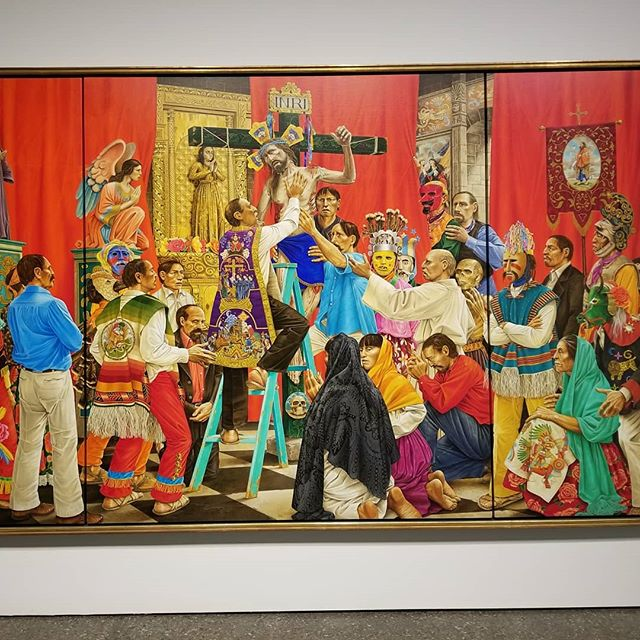 Phoenix art Museum pictures of course Basquiat, Kehinde wiley, Philip curtis, Carlos Amorales...