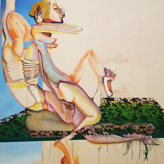 More images from Made in LA Christina Quarles and Celeste Dupuy-Spencer #madeinla #art