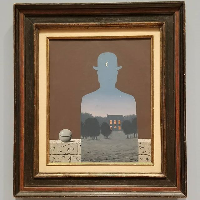 Rene Magritte collection at SFMoMA at least one good thing came about getting stuck in San Fran due to a car accident. MUSEUMS