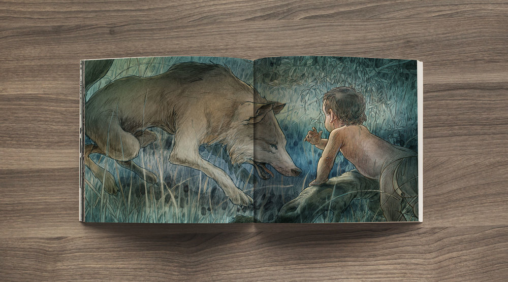 Father Wolf, The Jungle Book