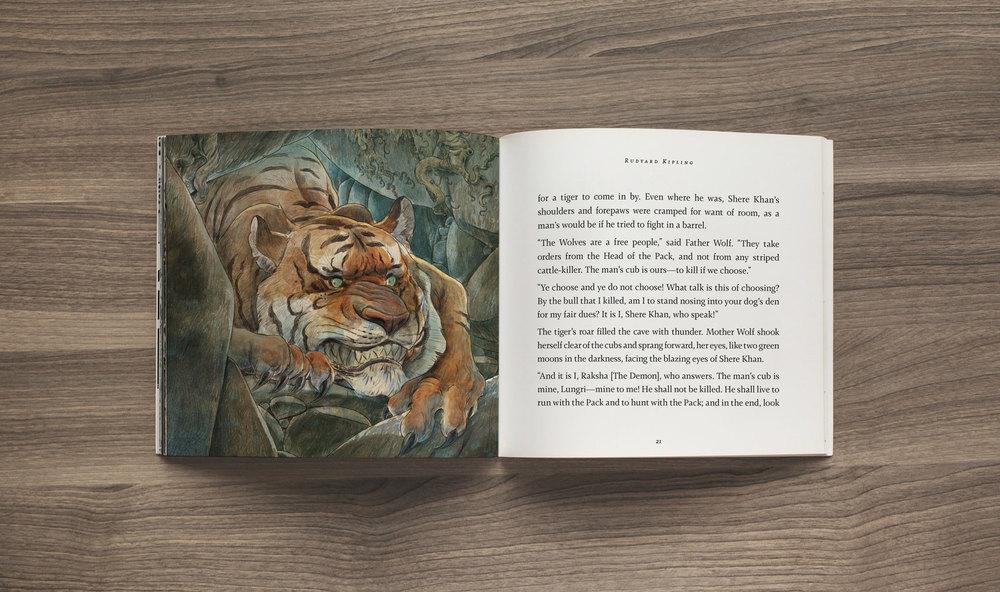 Shere Khan, Jungle Book