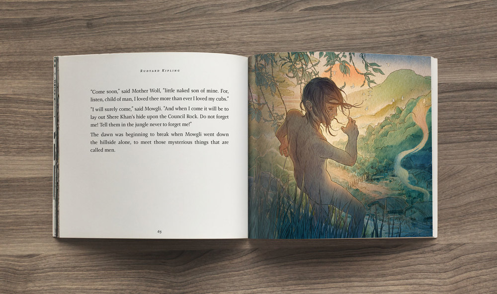 The departure, The Jungle Book