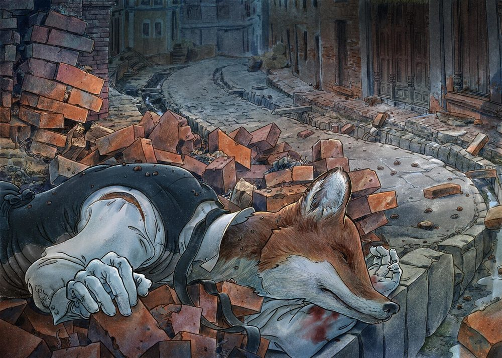The aftermath, The Unlucky Fox