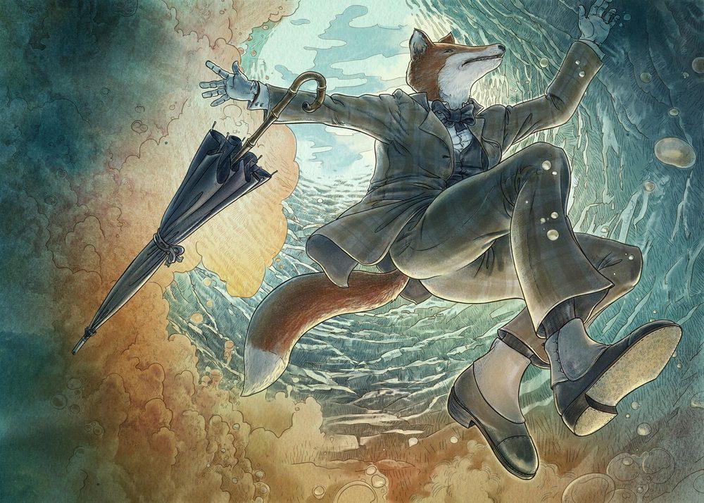 Swimming, The Unlucky Fox