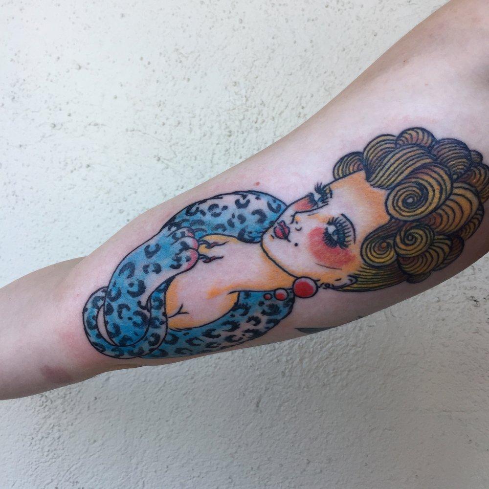 leopard lady