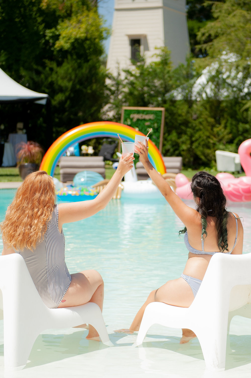 Luxe Pool Party