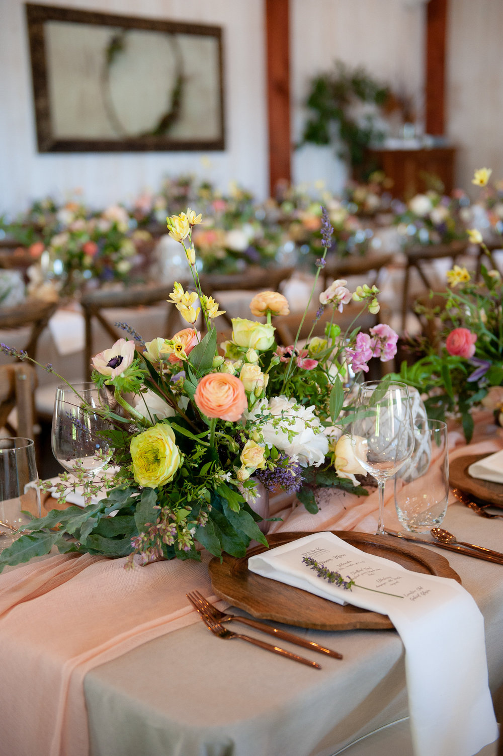 Florals: Dixon Florist Linens: La Tavola Fine Linen Rentals: Theoni Collection Chairs: Celebrations Party Rentals Uplighting: Function45 DJ
