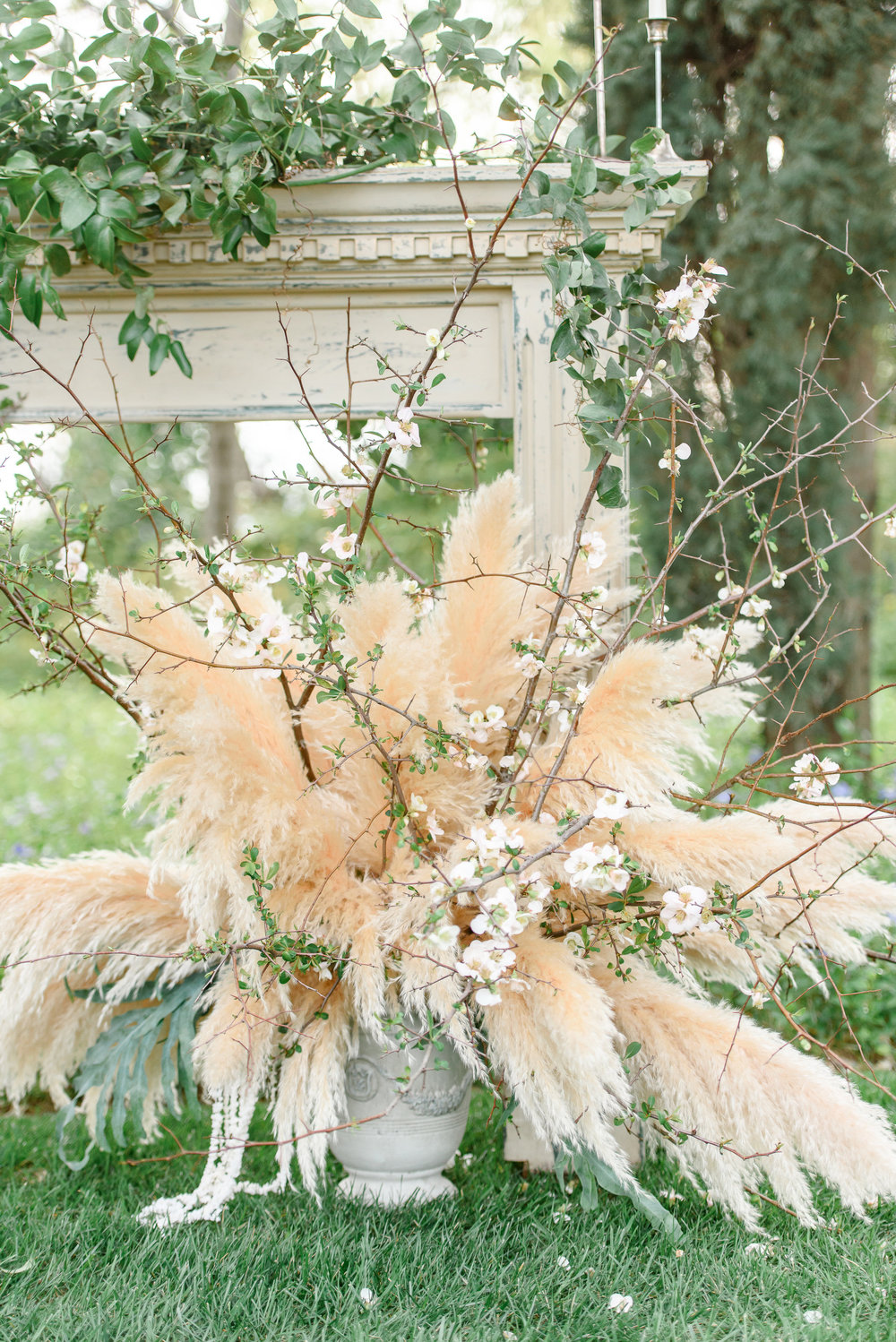 Wedding Flowers | Unique Wedding Flowers | Pampas Grass