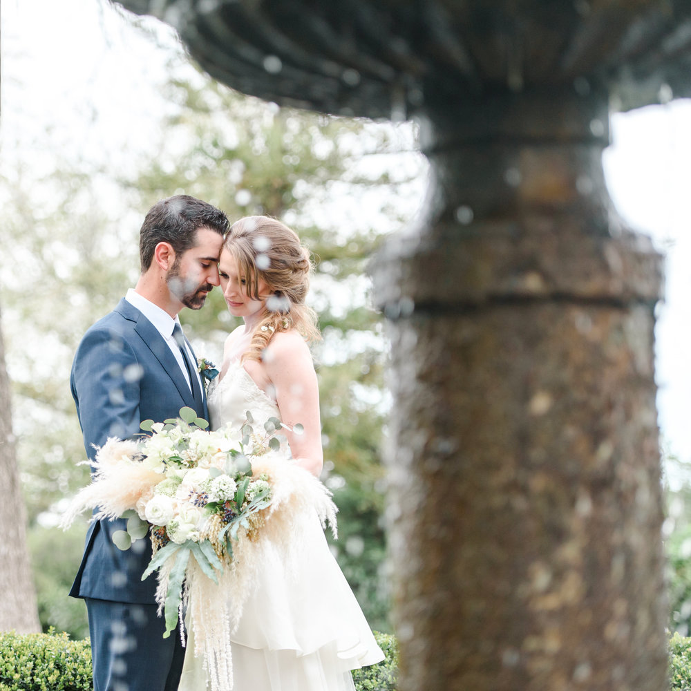 Garden Wedding Inspiration | Bridal Bouquet | Unique Bouquet | Pampas Grass