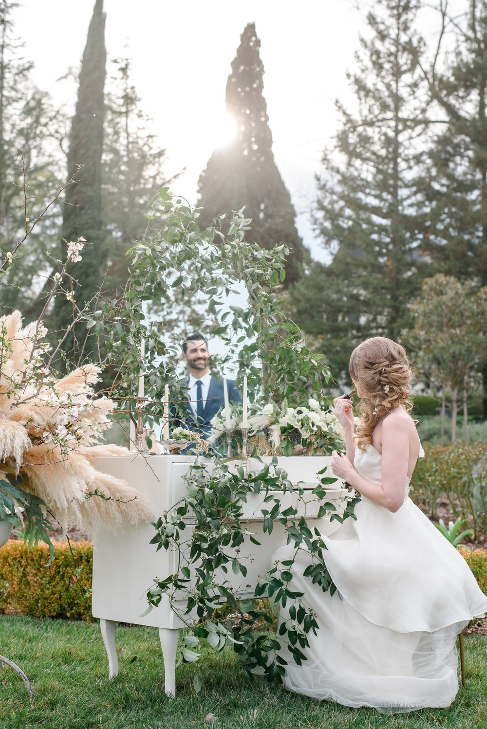 Garden Wedding Inspiration | Wedding Greenery | Pampas Grass