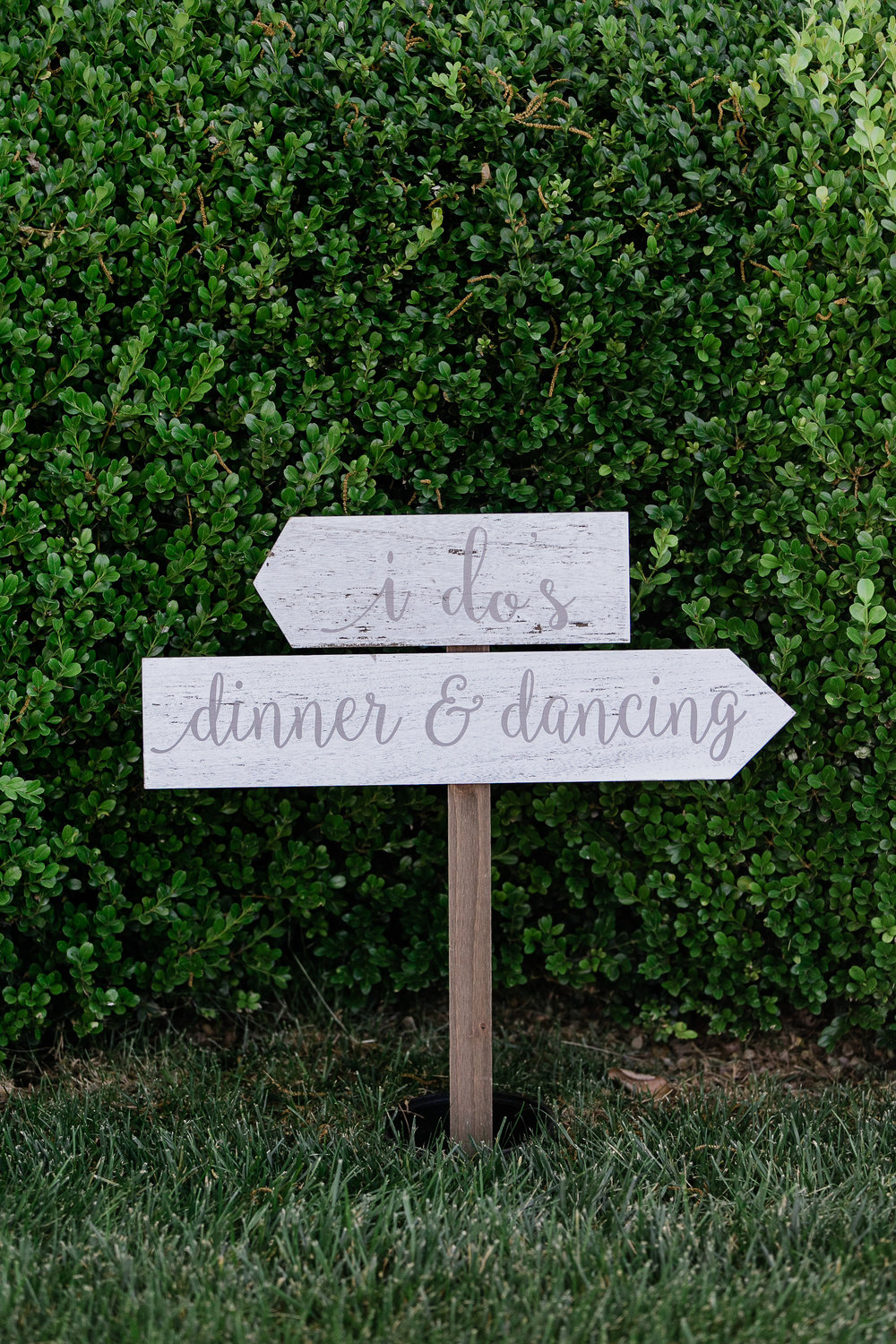 Park Winters Summer Wedding | Wedding Signage