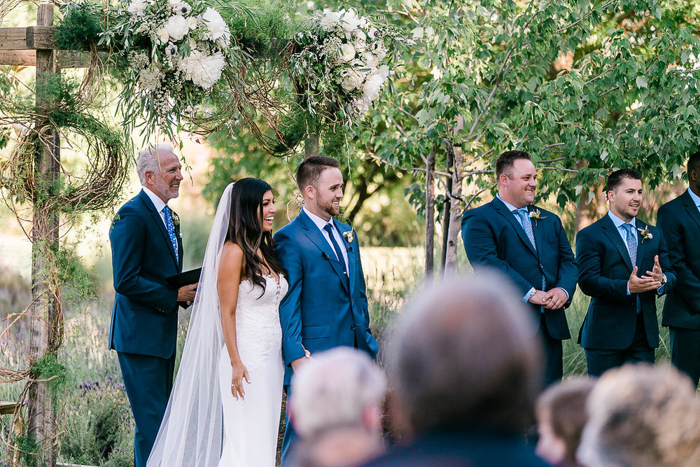 Park Winters Summer Wedding | Garden Wedding | Wedding Ceremony