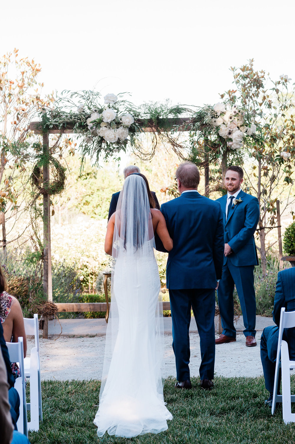 Park Winters Summer Wedding | Garden Wedding | Wedding Ceremony