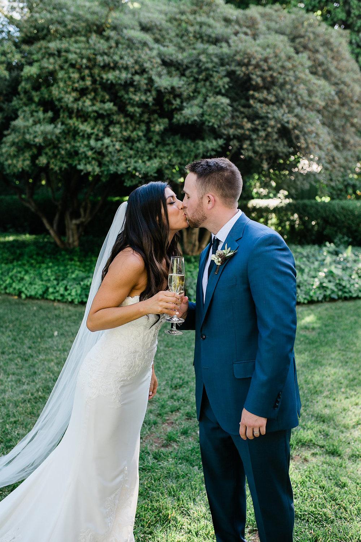 Park Winters Summer Wedding | Bride and Groom Portrait
