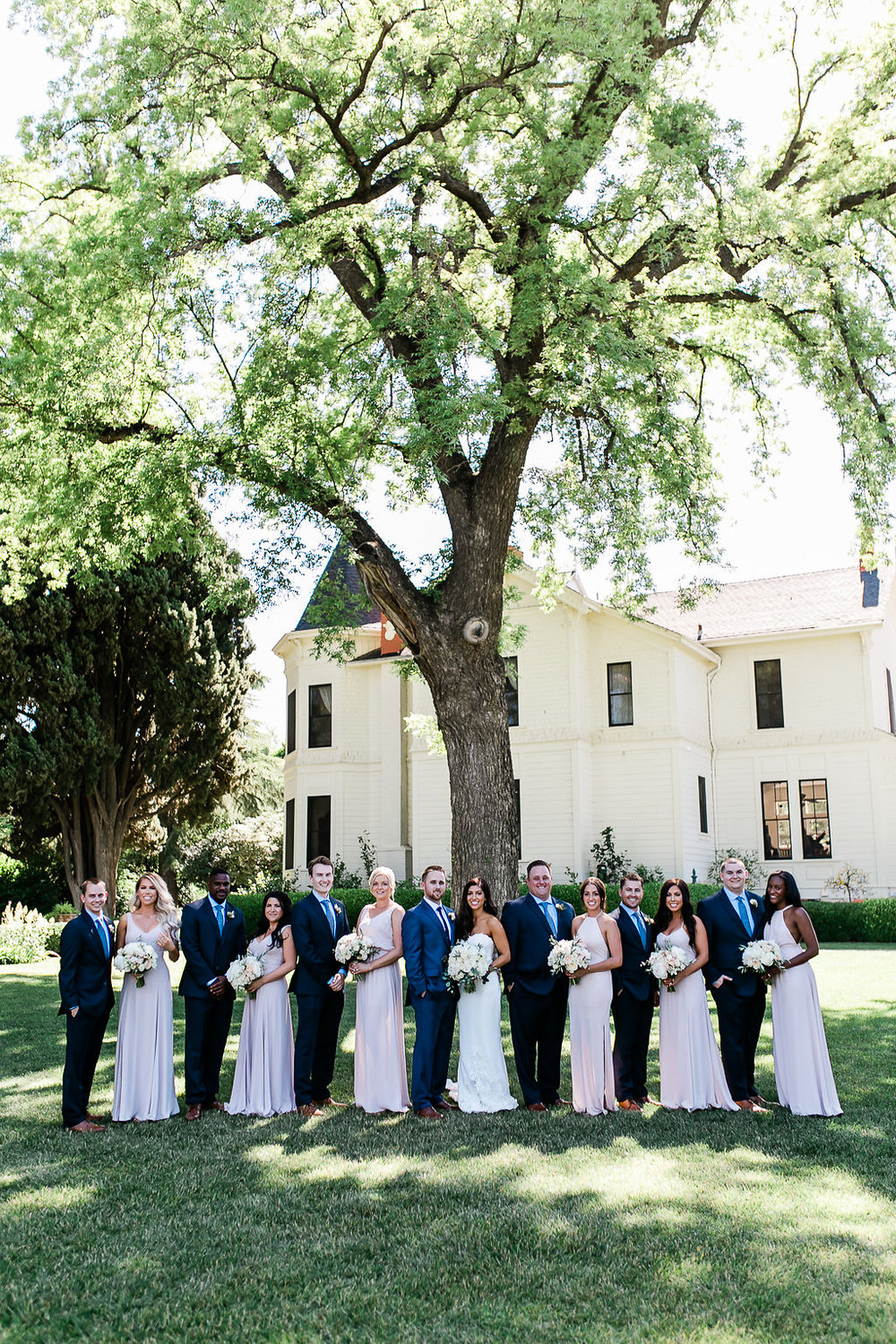 Park Winters Summer Wedding | Wedding Party Photos