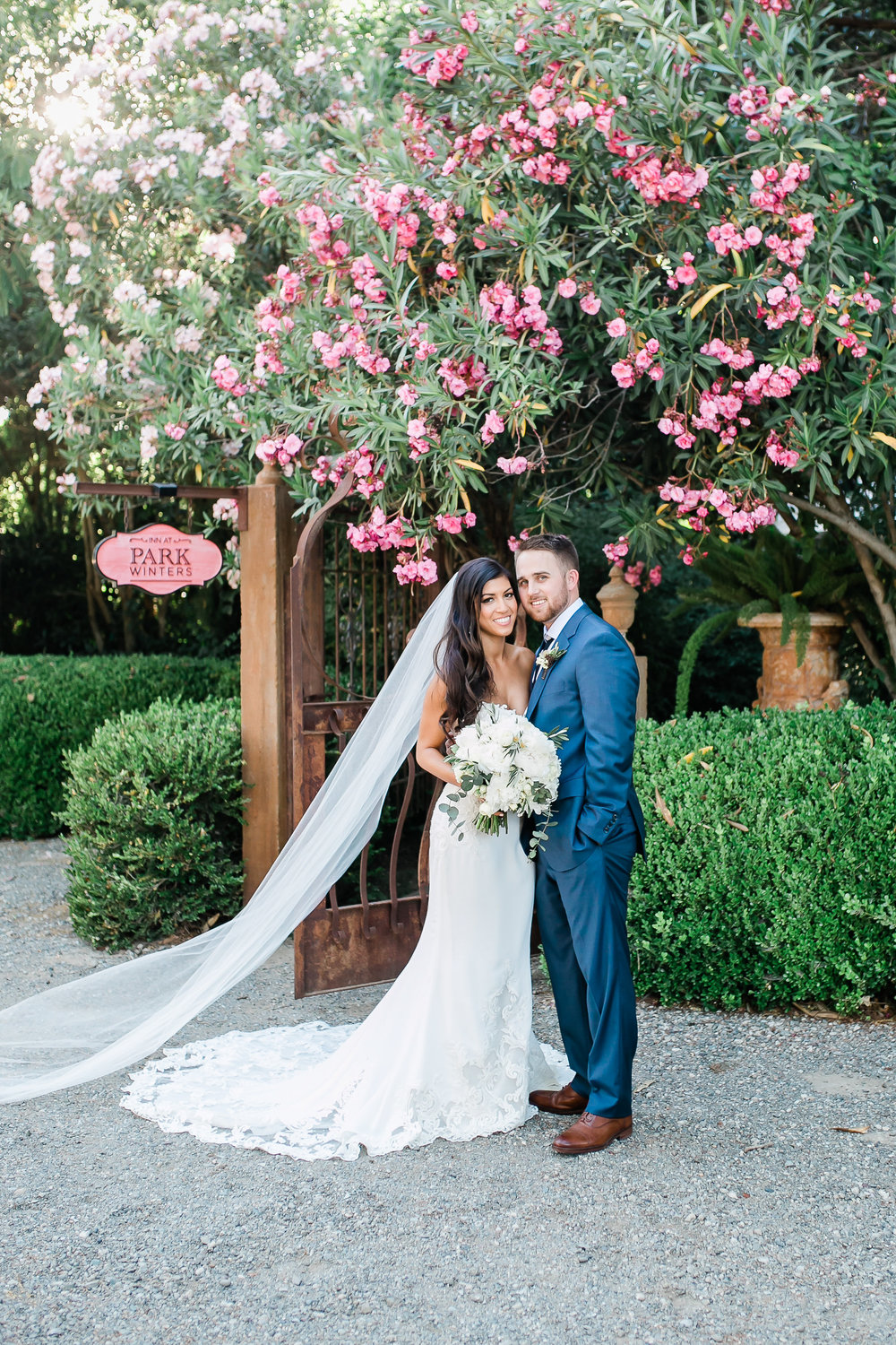 Park Winters Summer Wedding | Bride and Groom Photo