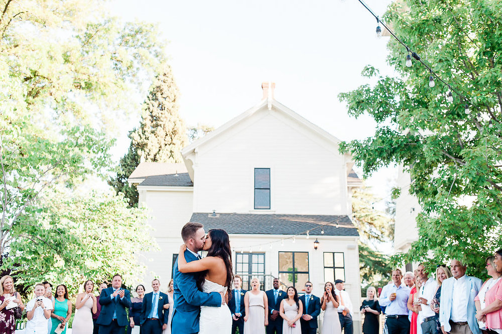 Park Winters Summer Wedding | Outdoor reception | First Dance
