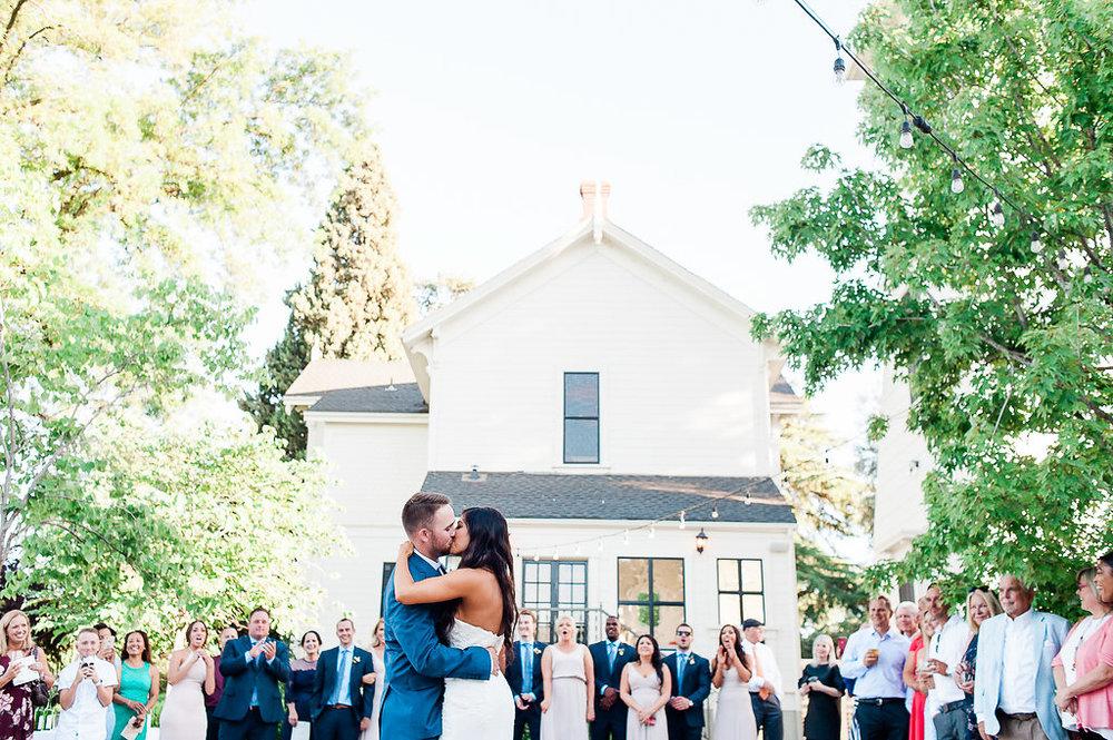 Park Winters Summer Wedding | Outdoor reception | First Dance