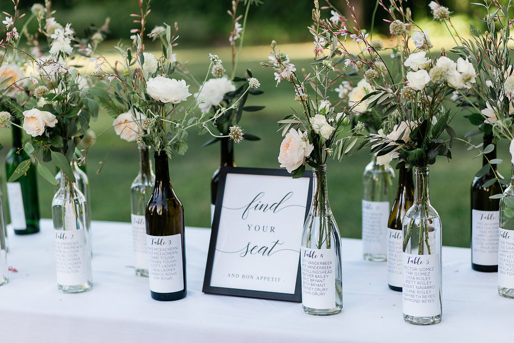 Park Winters Summer Wedding | Wedding Seating Assignment | Creative Seating Chart | Wedding Calligraphy