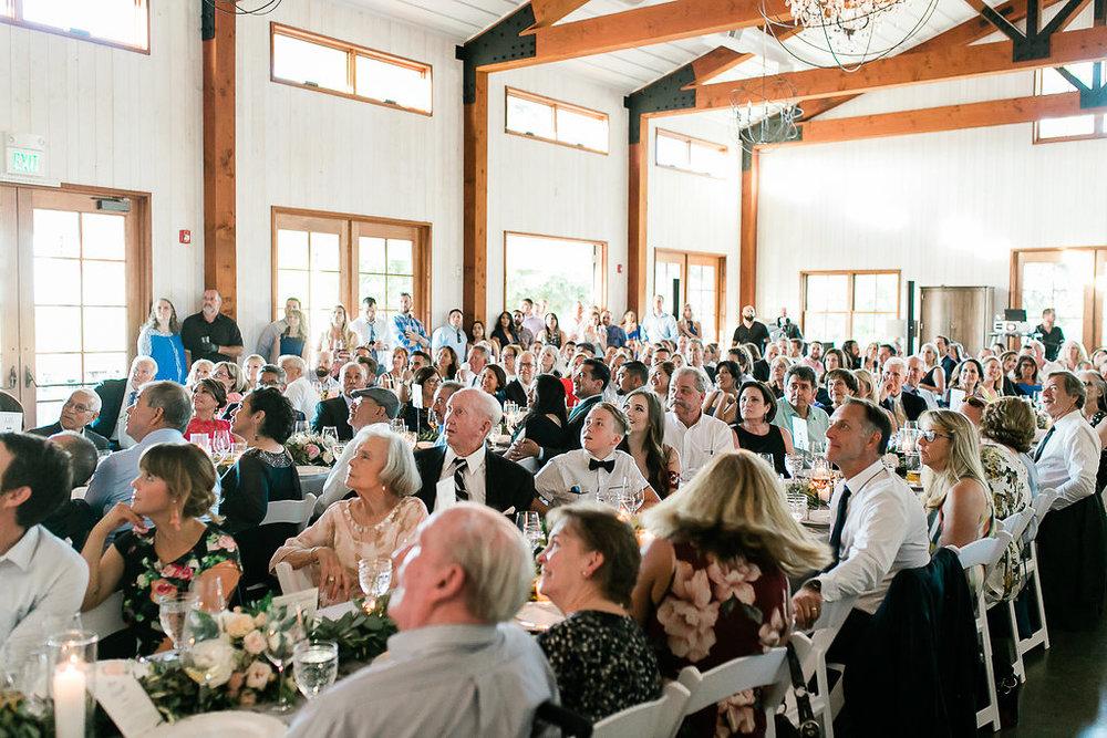 Park Winters Summer Wedding | Indoor Wedding Reception | Barn Wedding