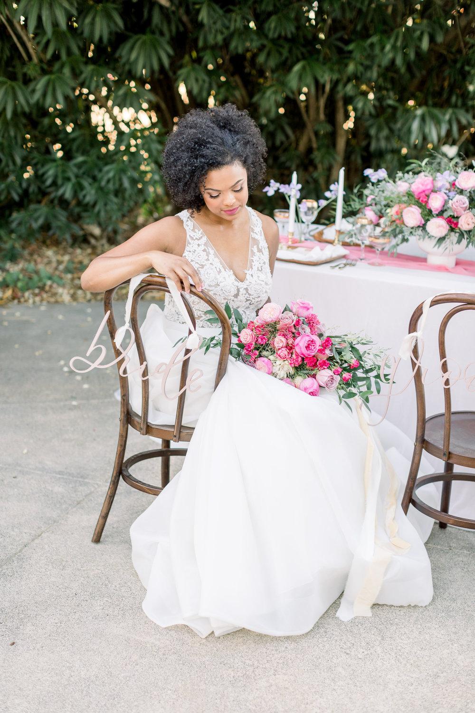 Pink Wedding | Feminine Wedding | Spring Wedding | Wedding Table Decor | Pink Wedding Flowers