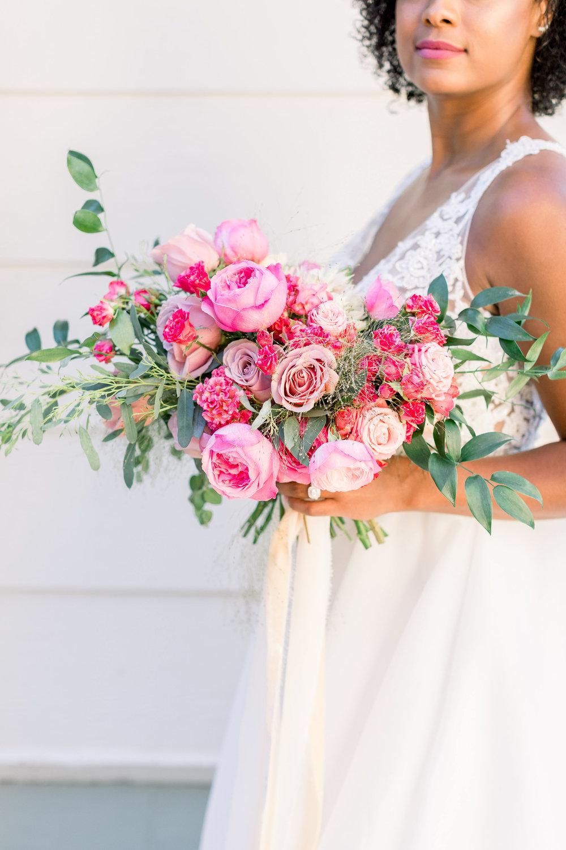 Pink Wedding | Feminine Wedding | Spring Wedding | Pink Wedding Flowers | Bridal Bouquet
