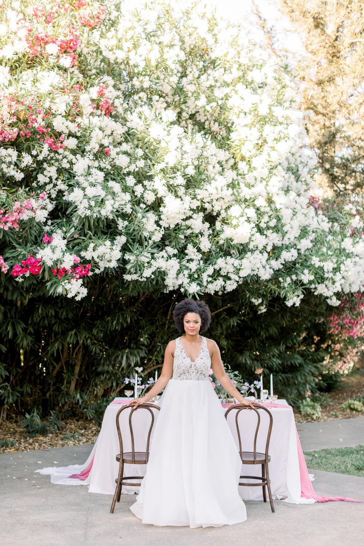 Pink Wedding | Feminine Wedding | Spring Wedding | Wedding Table Decor | Sweetheart Table | Pink Wedding Flowers