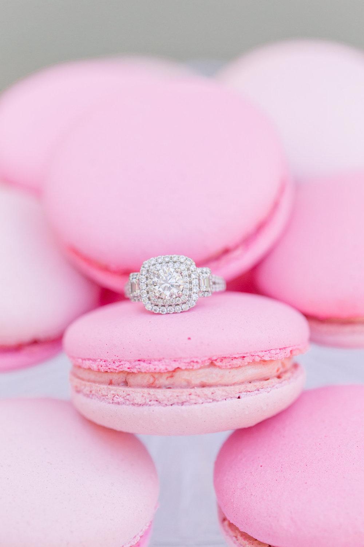 Pink Wedding | Feminine Wedding | Spring Wedding | Pink Wedding Flowers | Wedding Macarons | Wedding Desserts