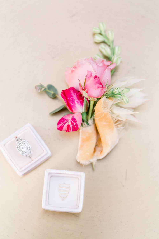 Ring Box | Pink Wedding | Feminine Wedding | Spring Wedding