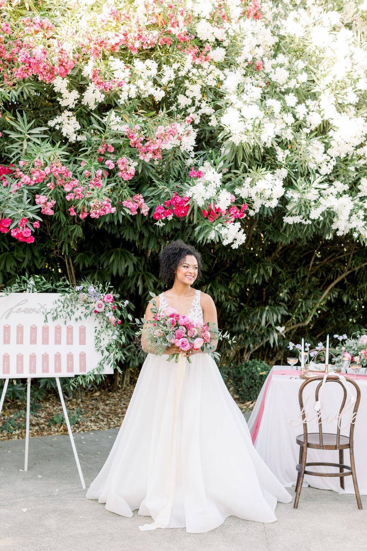 Pink Wedding | Feminine Wedding | Spring Wedding | Wedding Table Decor | Wedding Seating Chart | Sweetheart Table | Pink Wedding Flowers