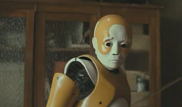 Bicentennial Man meets Crash-test dummy.