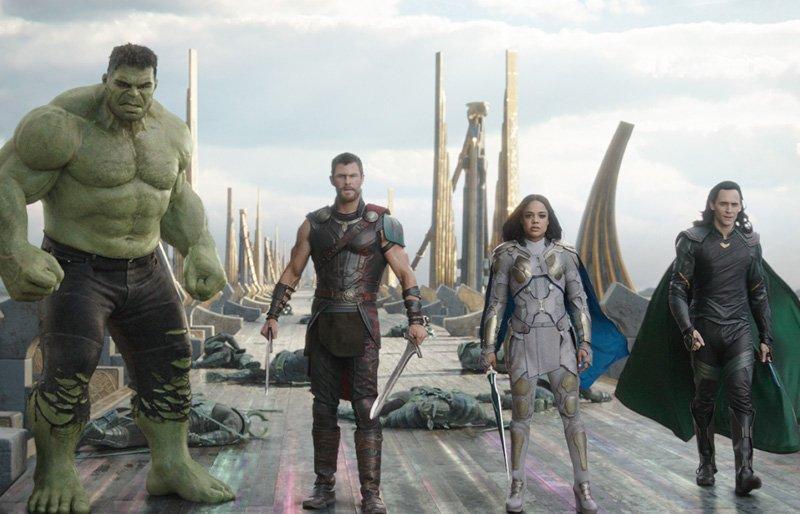"""In  Thor: Ragnarok, the """"Revengers"""" assemble."""