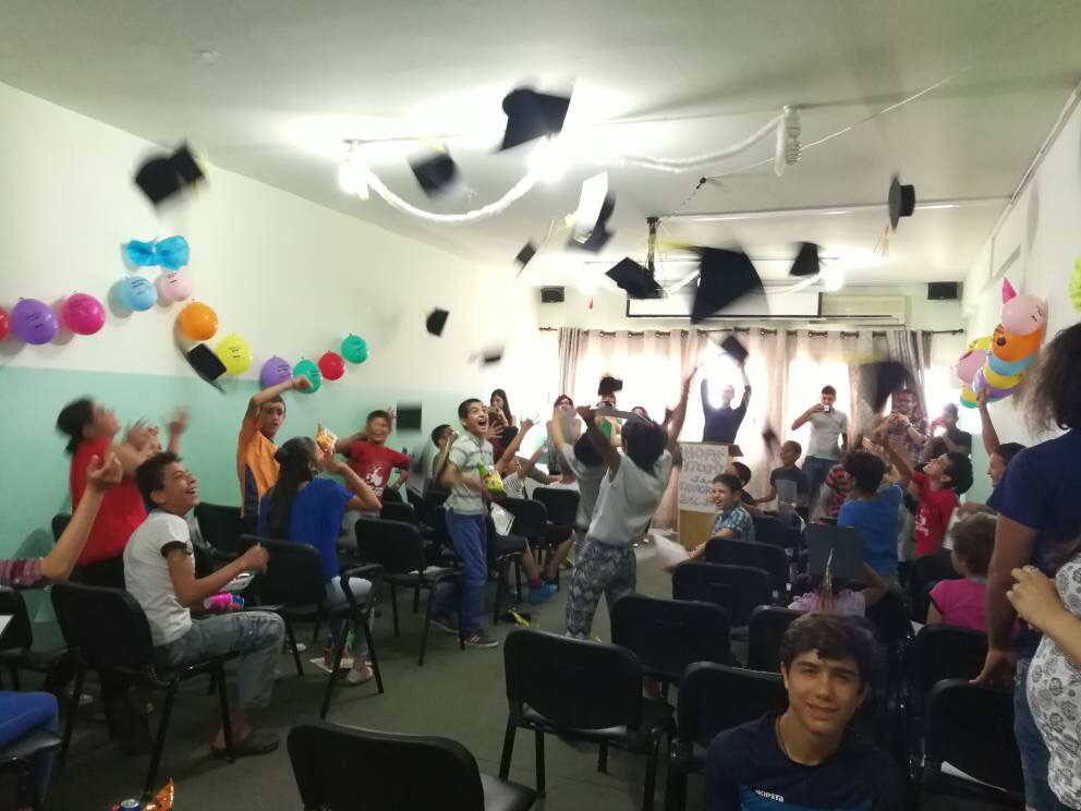 Graduation Ceremony 2017 - the end of our first school year
