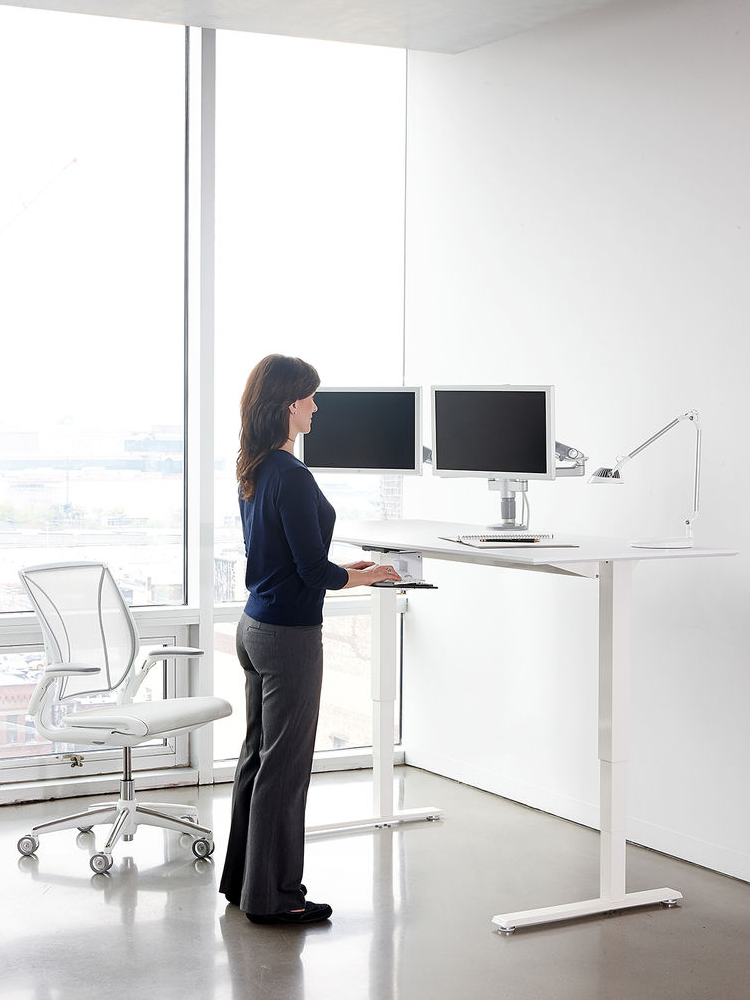 human scale standing desk