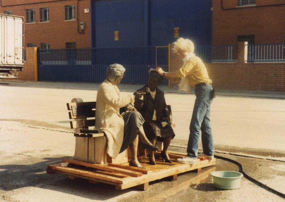 1992 Seville Expo Sculptures