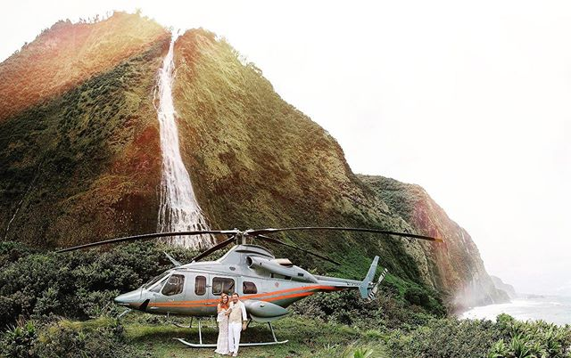 Still trying to figure out if this waterfall wedding was real! @paradisehelicopters @fshualalai @fshualalai @flowersbyheidi @kellygrrrl @fletchphotography . . . . . . #hawaiiweddingphotographer #hawaiiweddingstyle #helicopterwedding #strictlyweddings #pacificweddings #100layercake #hawaiidestinationwedding #radcouples #belovedstories #hawaiidestinationphotographer #hawaiiphotographer #hawaiilife #nakedhawaii #adventurenthusiasts #adventurecouples #adventureweddingphotographer #theknotweddings #stylemepretty #greenweddingshoes #escapetoparadise #hawaiielopementphotographer #hawaiielopement #lovehawaii #bettertogether