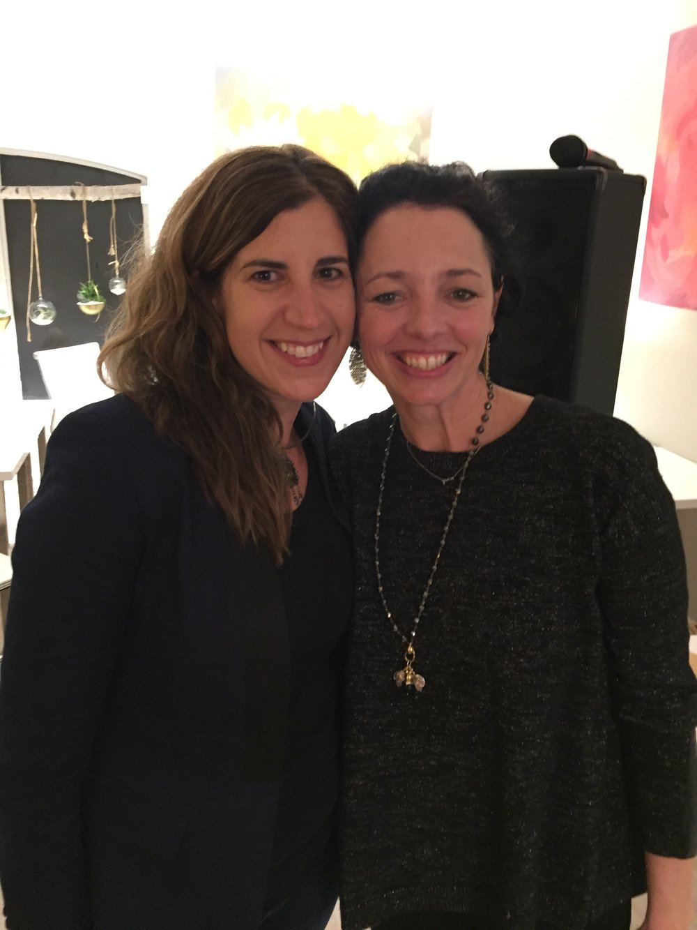 Marti with Hivery owner Grace  Kraaijvanger