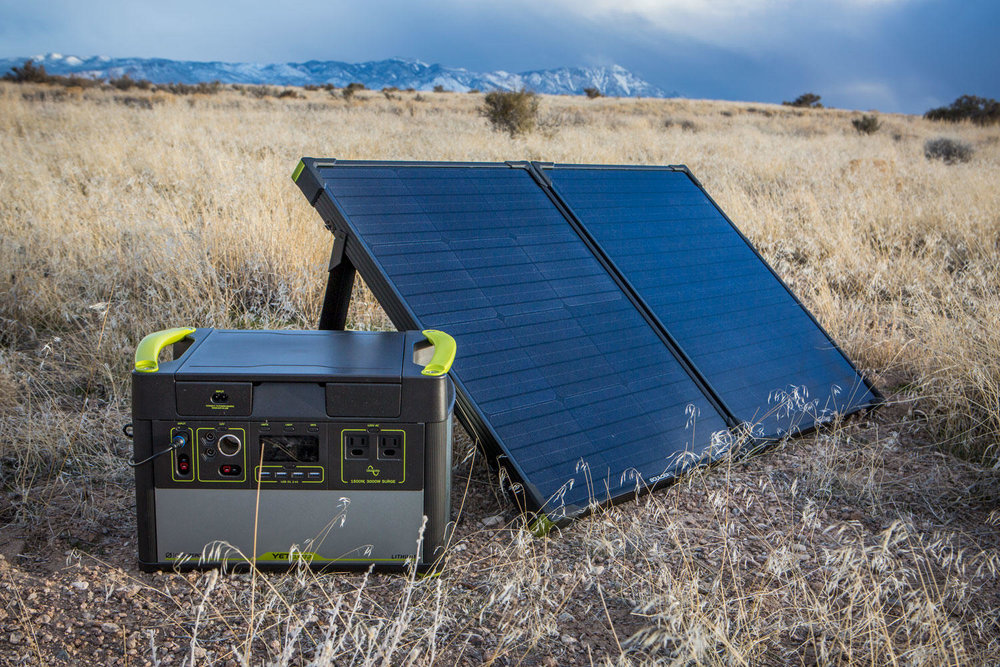 Goal Zero Boulder 100 Briefcase Lifestyle 4 | Tiny Solar Panel | Tiny Life Supply.jpeg