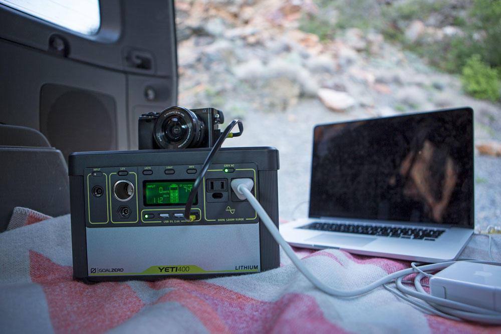Goal Zero Yeti 400 Lifestyle 2 | Tiny Solar Generator | Tiny Life Supply.jpeg