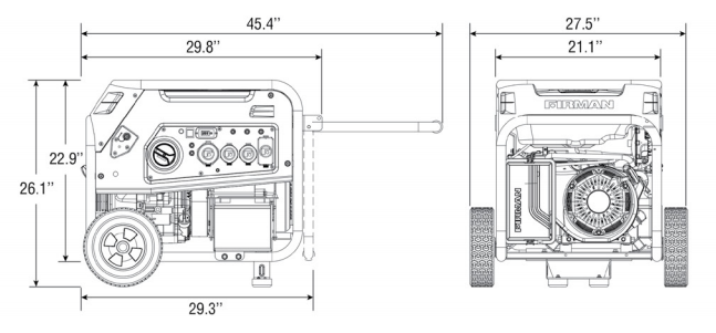 Firman H08051 Dimensions | Off Grid Living | Tiny Life Supply.png