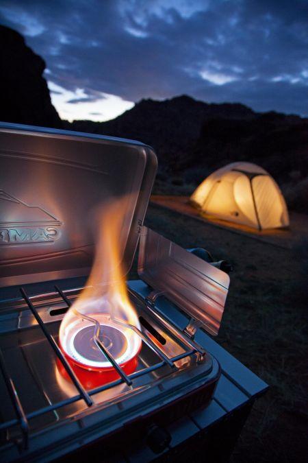 Everest Two Burner Camp Stove Lifestyle 2 | Tiny House Kitchen | Tiny Life Supply .jpg